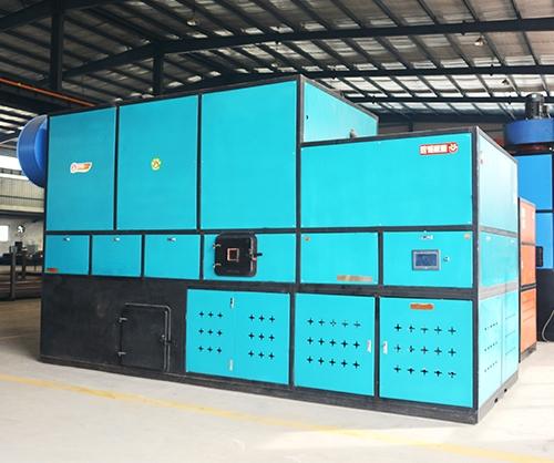 生物质热水锅炉全体构造紧凑!